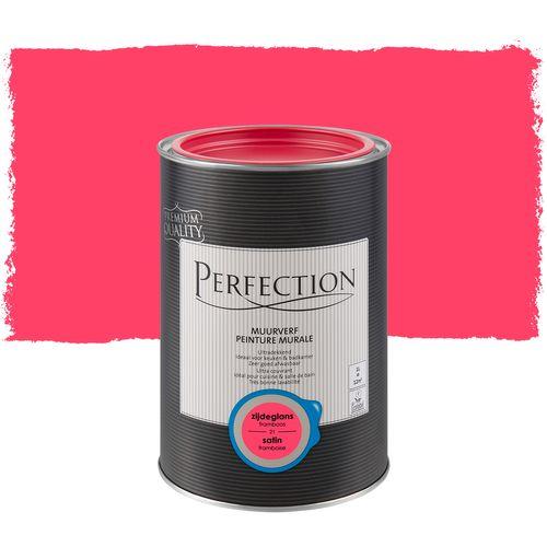 Perfection muurverf Ultradekkend zijdeglans framboos 1L