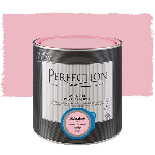Peinture murale Perfection ultra couvrant satin blush 2,5L