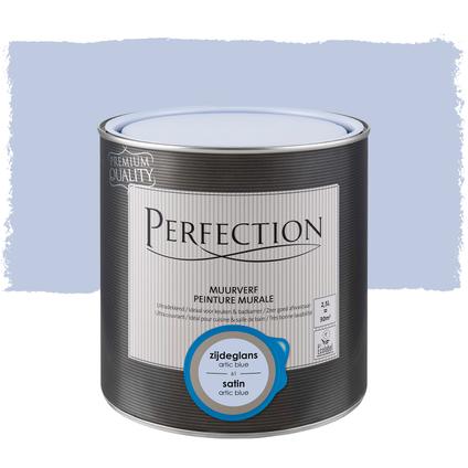 Perfection muurverf ultradekkend zijdeglans arctic blue 2,5L