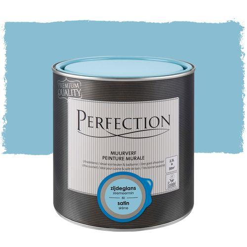 Perfection muurverf ultradekkend zijdeglans zeemeermin 2,5L