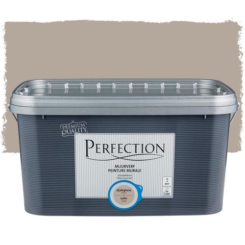 Perfection muurverf ultradekkend zijdeglans leem 5L