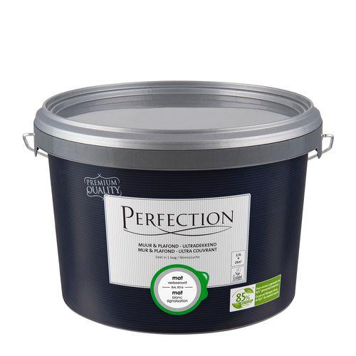 Perfection verf Muur & Plafond Ultradekkend mat RAL 9016 2,5L