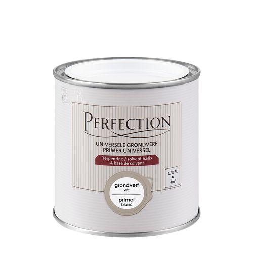 Perfection grondverf Superdekkend wit 375ml