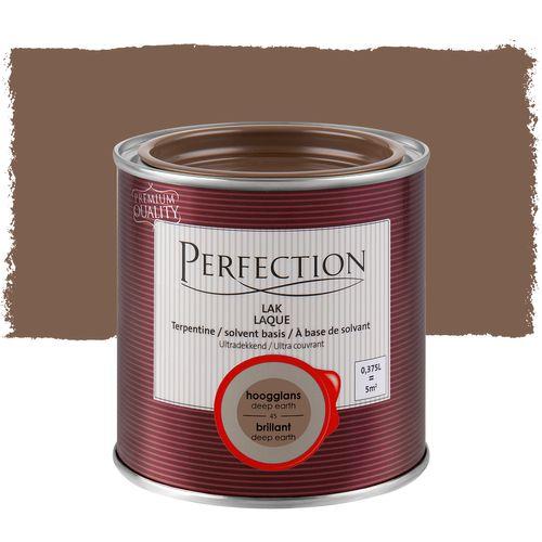 Laque Perfection 'Super Couvrant' terre brillant 375ml