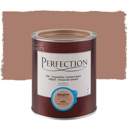 Laque Perfection 'Super Couvrant' brun kalahari satin 750ml