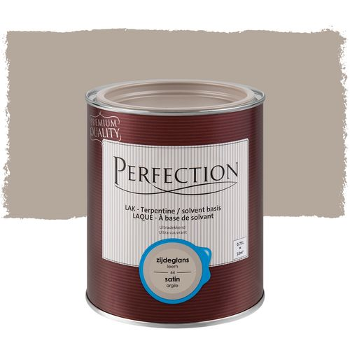 Laque Perfection 'Super Couvrant' argile satin 750ml