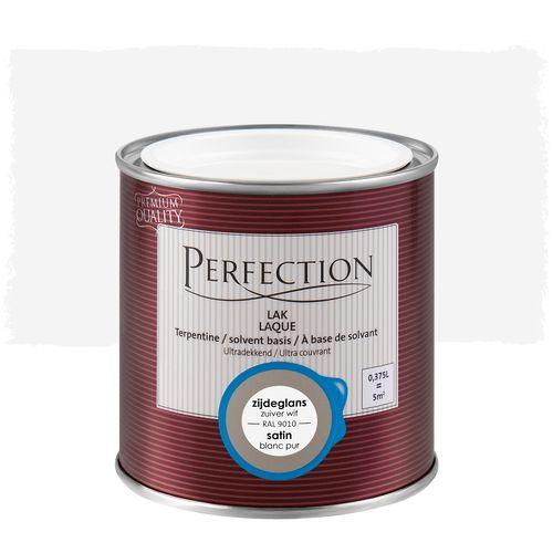 Laque Perfection 'Super Couvrant' blanc pur 9010 satin 375ml