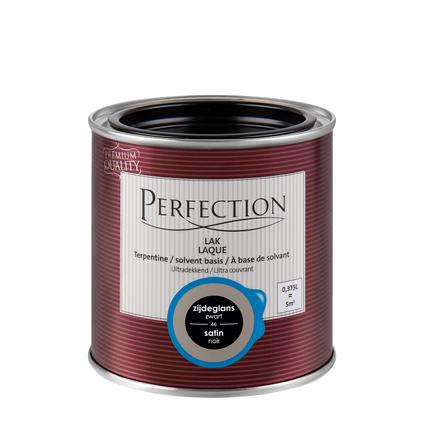 Laque Perfection 'Super Couvrant' noir satin 375ml