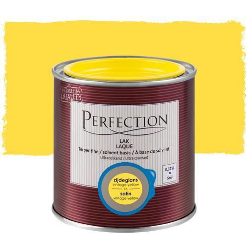 Perfection lak Ultradekkend zijdeglans terpentine basis vintage yellow 375ml