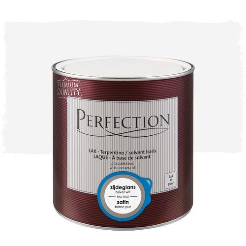 Perfection Lak zijdeglans superdekkend RAL 9010 2,5L