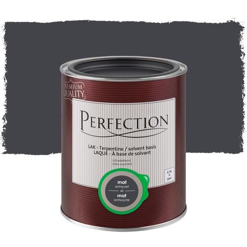 Laque Perfection 'Super Couvrant' anthracite mat 750ml