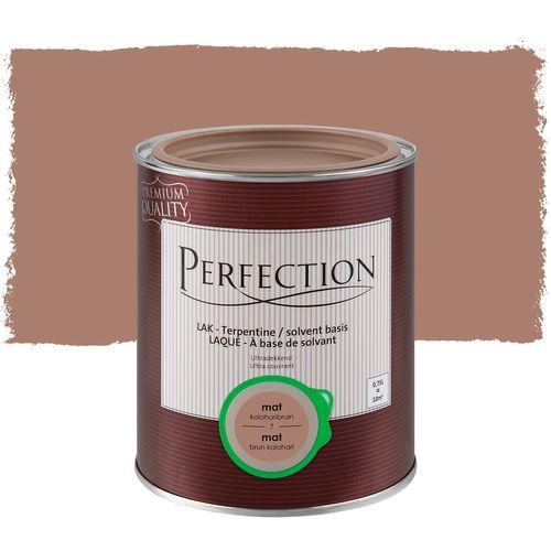 Laque Perfection ultra couvrante solvant brun kalahari mat 750ml