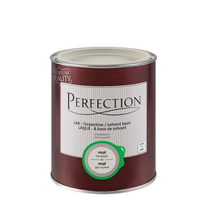 Laque Perfection 'Super Couvrant' gris gravier mat 750ml