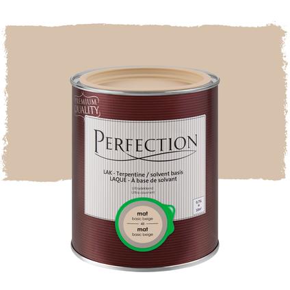 Laque Perfection 'Super Couvrant' beige basic mat 750ml