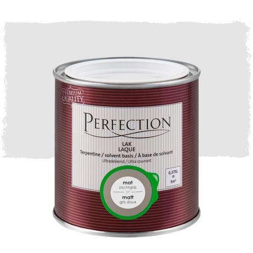 Laque Perfection 'Super Couvrant' gris clair mat 375ml