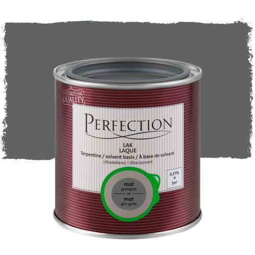 Laque Perfection 'Super Couvrant' gris gobi mat 375ml