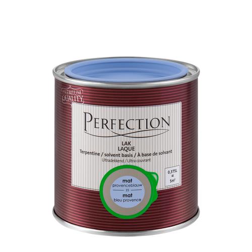 Perfection lak 'Superdekkend' provence blauw mat 375ml