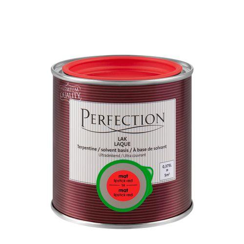 Perfection lak Ultradekkend mat terpentine lipstick red 375ml