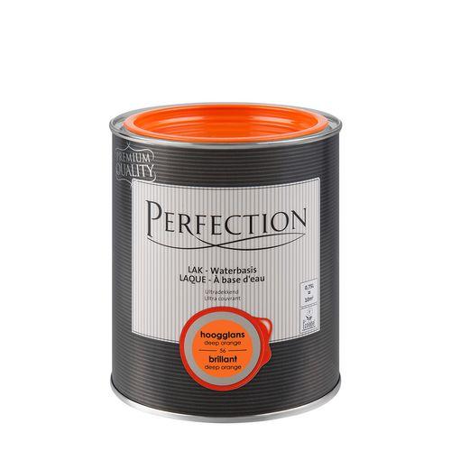 Laque Perfection ultra couvrante deep orange brillant 750ml
