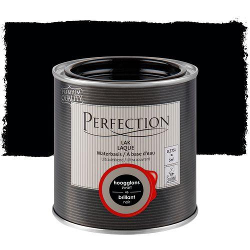 Perfection lak Ultradekkend hoogglans zwart 375ml