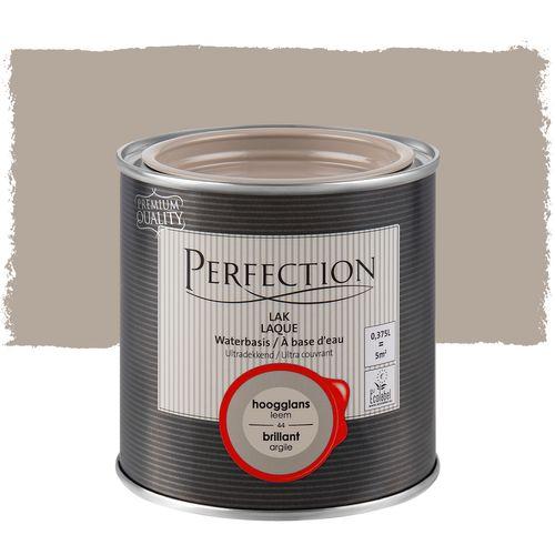 Perfection lak Ultradekkend hoogglans leem 375ml