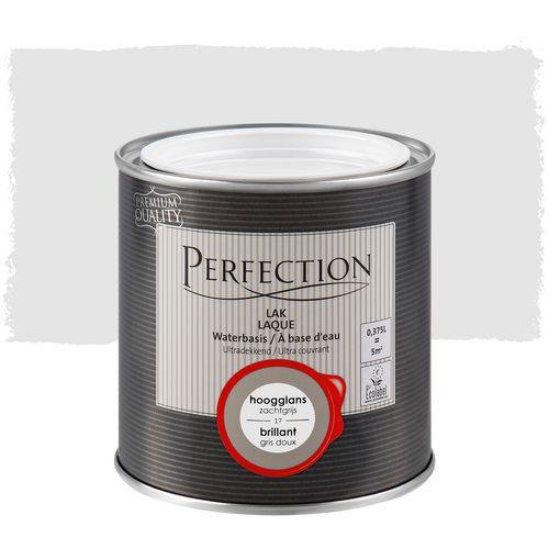 Laque Perfection gris doux brillant 375ml