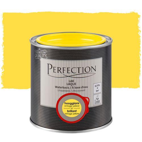 Laque Perfection ultra couvrant brillant jaune vintage 375ml