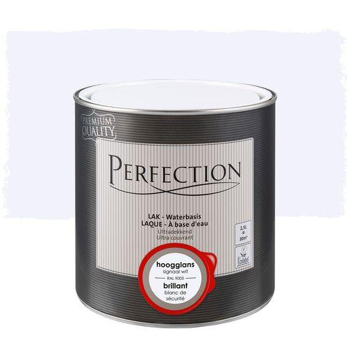 Perfection lak Ultradekkend hoogglans signaal wit RAL 9003 2,5L