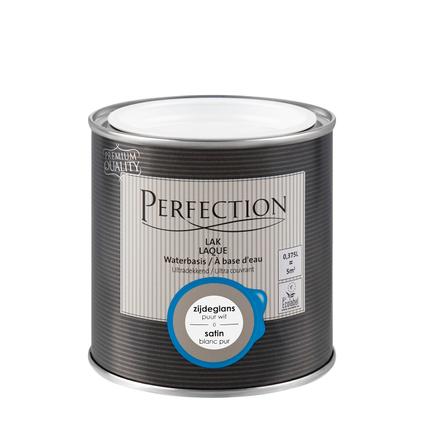 Perfection lak puur wit satijn 375ml