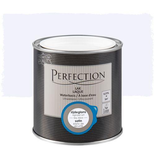 Perfection lak Ultradekkend zijdeglans signaal wit RAL 9003 375ml