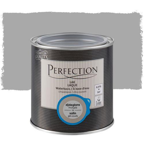 Perfection lak Ultradekkend zijdeglans muisgrijs 375ml