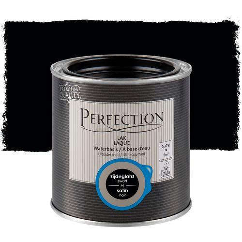 Laque Perfection utra couvrant satin noir 375ml