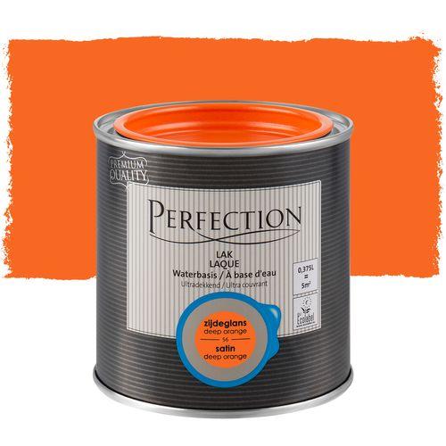 Laque Perfection Ultra couvrant satinée deep orange 375ml
