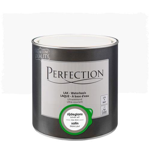 Laque Perfection blanc pur satin 2,5L