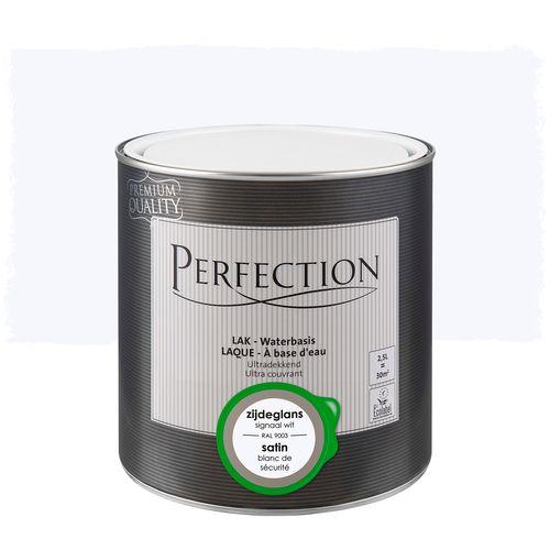 Perfection lak Ultradekkend zijdeglans signaal wit RAL 90032,5L