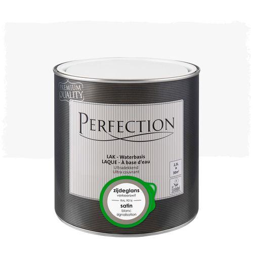 Perfection lak Ultradekkend zijdeglans verkeerswit RAL 9016 2,5L
