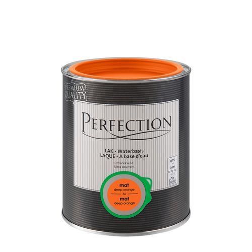 Perfection lak Ultradekkend mat deep orange 750ml