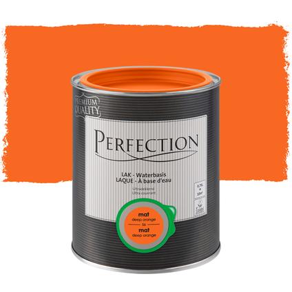 Perfection lak deep orange mat 750ml