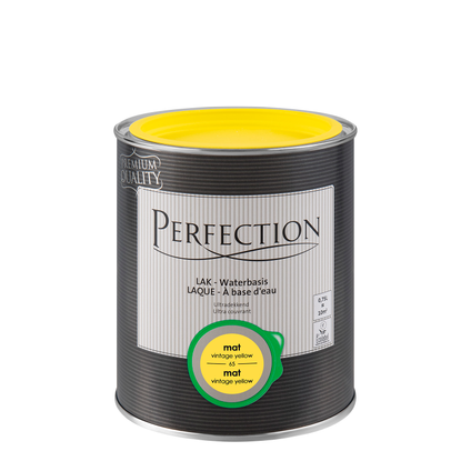 Laque Perfection vintage yellow mat 750ml