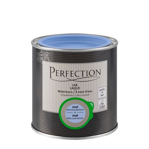 Laque Perfection bleu provence mat 375ml