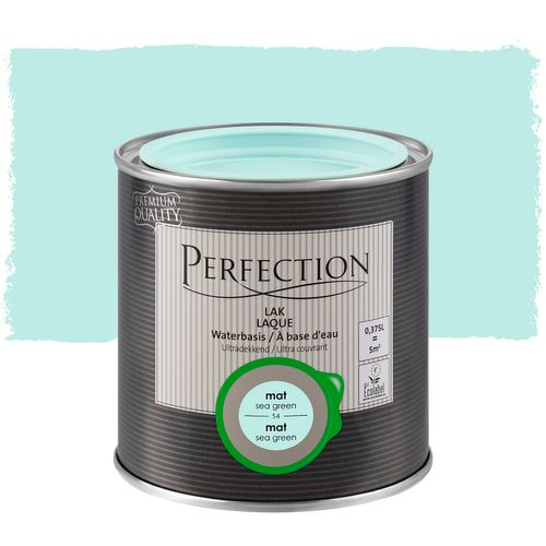 Laque Perfection sea green mat 375ml