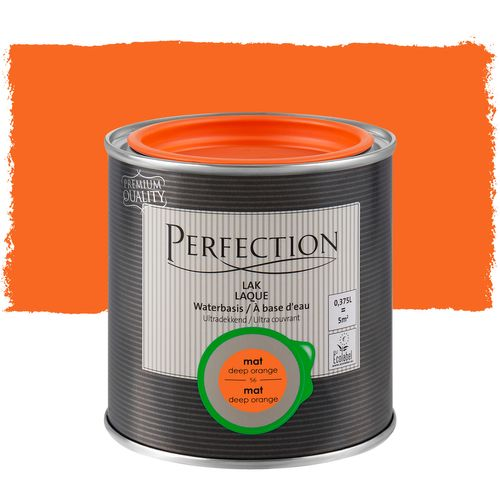 Laque Perfection deep orange mat 375ml