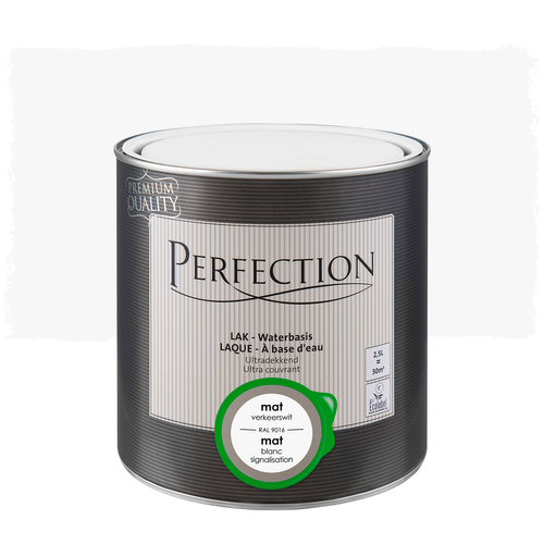Perfection Lak mat RAL 9016 2,5L