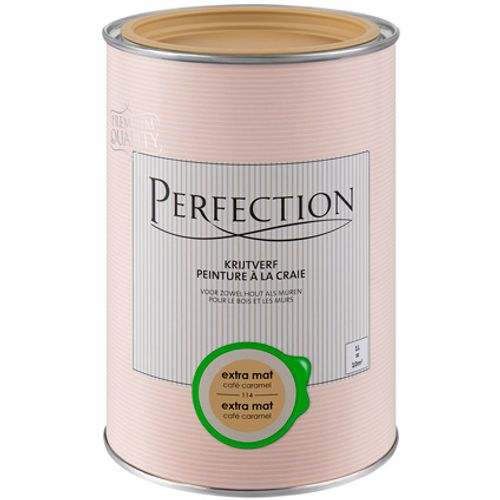 Perfection Krijtverf Cafe Caramel 1L