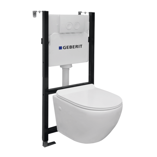 Pack-WC suspendu Geberit 'Design' 3/6 L