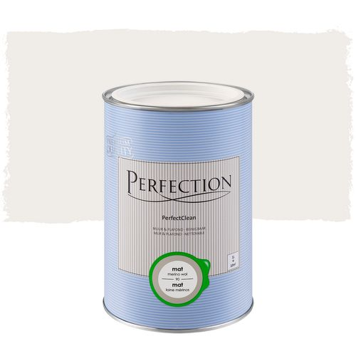 Perfection muurverf PerfectClean Muur & Plafond mat merino wol 1L