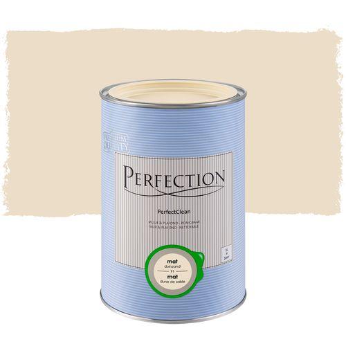 Perfection muurverf PerfectClean Muur & Plafond mat duinzand 1L