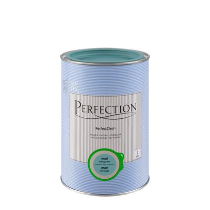 Perfection PerfectClean Muur & Plafond mat saliegroen 1L