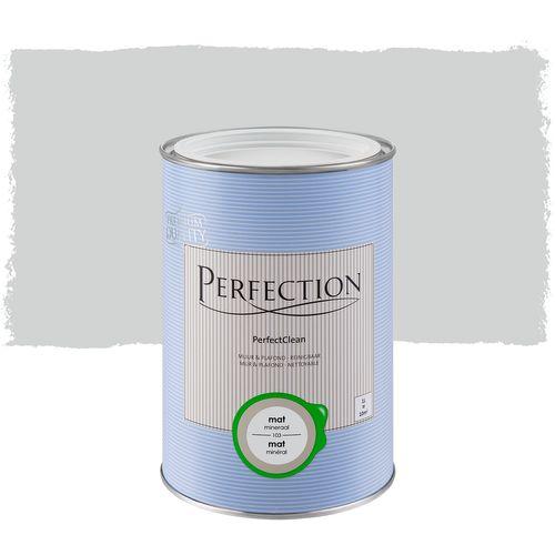 Perfection muurverf PerfectClean Muur & Plafond mat mineraal 1L