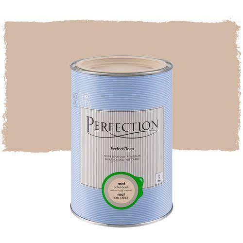 Perfection muurverf PerfectClean Muur & Plafond mat café frappé 1L